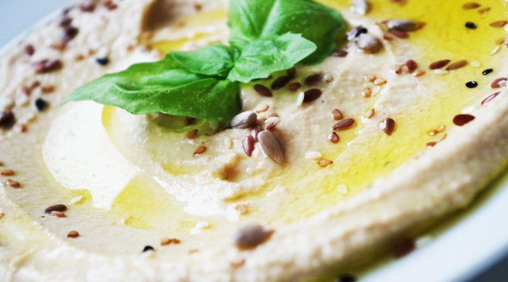 Delicious smooth and creamy hummus