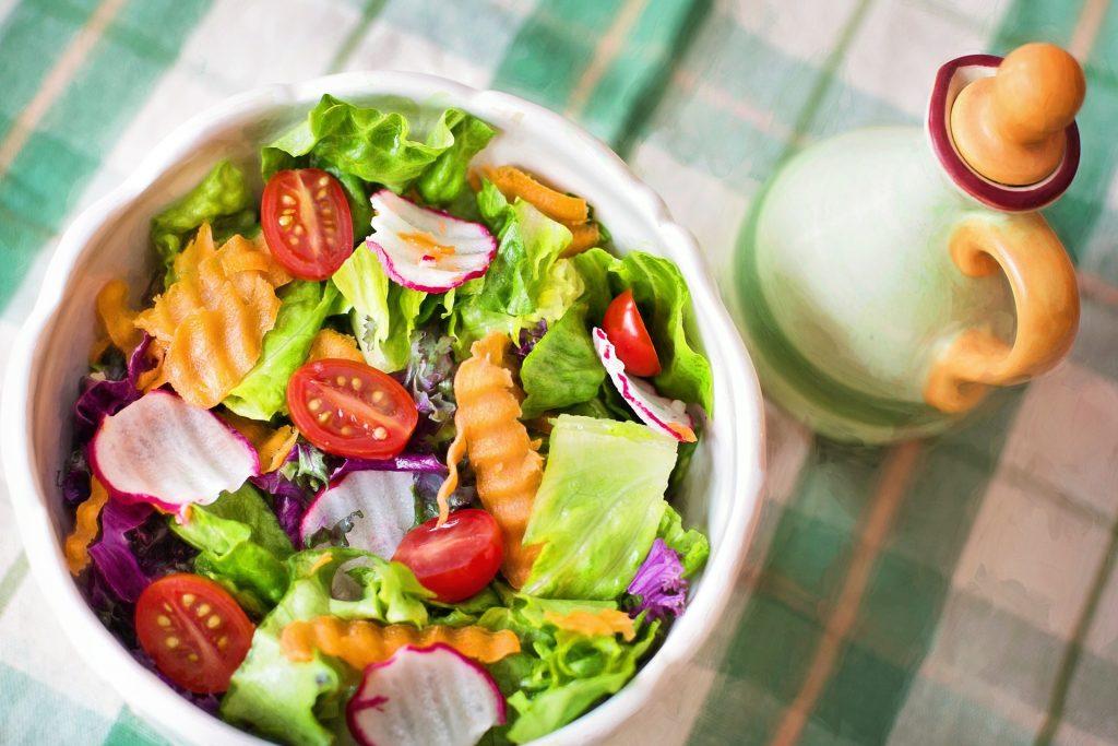 Yummy bowl of Healthy Salad